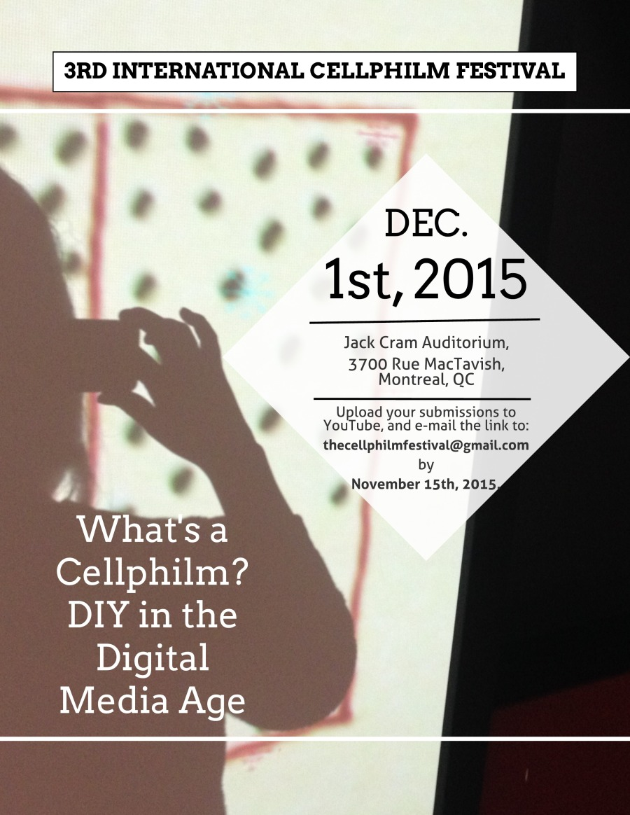 What's a Cellphilm_ - Flyer